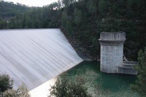 barrage de Sainte Cécile d'Andorge