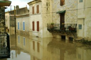Crue du Rhône de 2003 à Comps